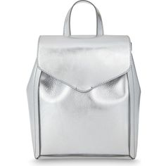 LOEFFLER RANDALL Mini leather backpack (1.200 BRL) ❤ liked on Polyvore featuring bags, backpacks, loeffler randall, miniature backpack, strap backpack, leather rucksack and backpack bags
