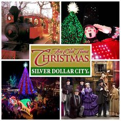 an old time christmas lights up silver dollar city with millions of lights a fabulous tree special shows and of course a parade featuring santa - Best Christmas Shows
