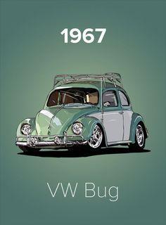 Volkswagen Beetle Vintage, Auto Volkswagen, Combi Ww, Beetle Drawing, Vw Modelle, Vw Classic, Classic Vw Beetle, Reliable Cars, Vw Cars