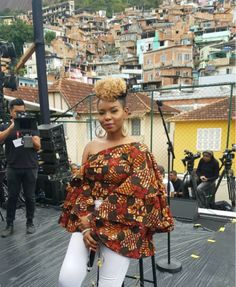 Yemi Alade is shooting a music video at the same location Micheal Jackson did 20 years ago