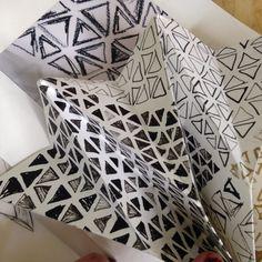 Folded Paper experiment | Harriet Whittaker