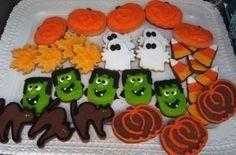 Halloween Cookie Concotions