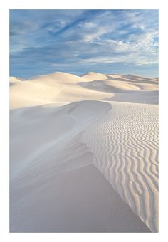 Delisser Sandhills, Eucla National Park, Australia
