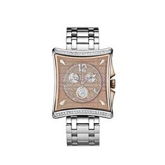 """Prince Quattro """"Passion"""" Diamond Watch by BlumLux... Perfect with a Brown Leather Strap... Only $700"""