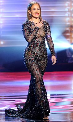 Jennifer Lopez on American Idol, Jennifer Lopez style