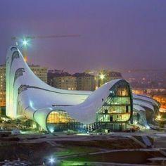 Heydar Aliyev Center, Baku, Azerbaijan // Architect: Zaha Hadid 2012