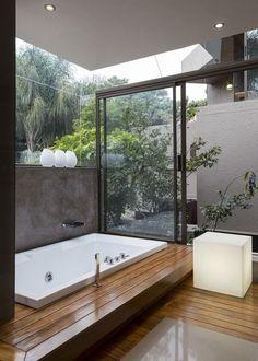 Baño confortable. Ideas para baños cómodos. Decoración de baños. #decoraciondebaños