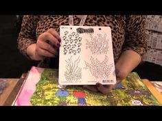 Scrap Time - CHA Winter 2013 - Dyan Reaveley New Stencils and Stamps