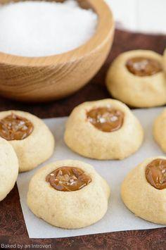 Dulce de Leche Thumbprint Cookies Recipe