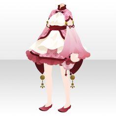 提灯演舞|@games -アットゲームズ- Fashion Line, Fashion Art, Fashion Design, Anime Outfits, Cute Outfits, Chibi, Anime Uniform, Anime Dress, Cocoppa Play