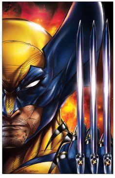 Wolverine by Jamie Tyndall