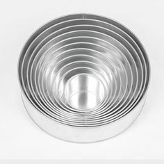 Euro Tins Backformen-Set Rund, 11er, Durchmesser ca. 10 - 35,5 cm