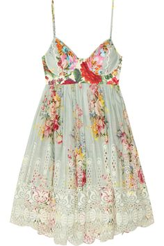<3 Zimmermann|Sundance embroidered cotton dress|This makes me long for spring!