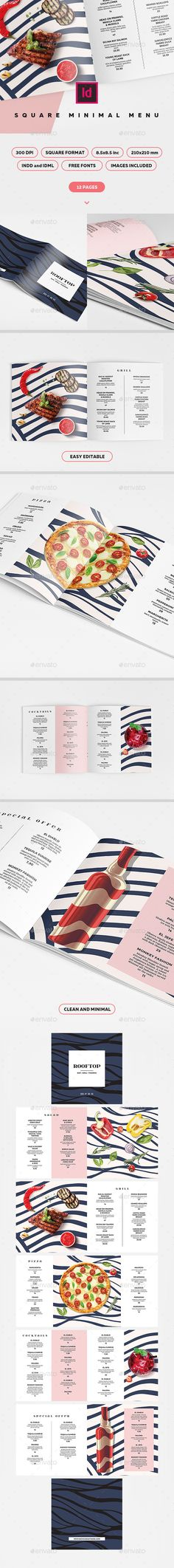 The 117 best MENUS - Templates & Restaurant Menu Ideas images on ...