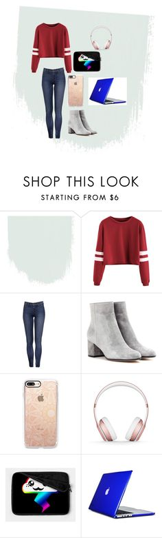 """""""gamer girl"""" by grivers2311 ❤ liked on Polyvore featuring Gianvito Rossi, Casetify, Beats by Dr. Dre and Speck"""