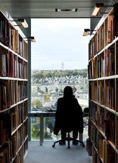 Schmidt Hammer Lassen Architects: University of Aberdeen new library. Photographed by Adam Mørk