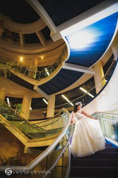 The Science Center offers so many photo opportunities on your special day!