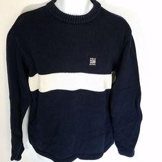Polo Jeans Ralph Lauren Sweater Mens XXL Flag #PoloRalphLauren #Crewneck