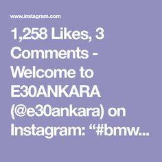 Alpine White, Bmw E30, Welcome, Instagram, Cutaway