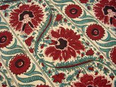 "schumacher paisley fabric | Gorgeous Schumacher Waverly Drapery Fabric - ""MALABAR"" Old Sturbridge ..."