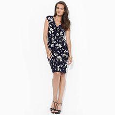 Floral-Print Jersey Dress - Lauren Shop All - Ralph Lauren France