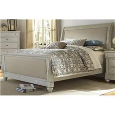 Liberty Furniture Harbor View King Sleigh Bed