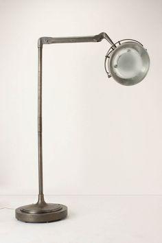 Vintage-Inspired Dentist Lamp by Anthropologie