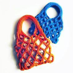 TODAY TOMMOROW 패브릭네트백 fabric netbag #네트백 #netbag #코바늘가방 #crochetbag #르네상스실 #패브릭얀 #jerseyyarn #かぎ針編みバッグ #neuloosi #hæklet