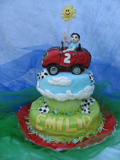 torta de niño dos años