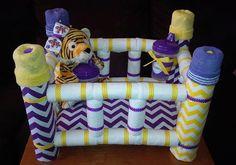 Diaper Crib Custom by CreationsByDawne on Etsy