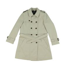Girl's Beige Double-Breasted Aquascutum Coat and Dress Set / Free UK Delivery & Returns on all Orders