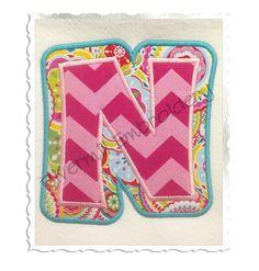 Double Applique Happy Machine Embroidery Font Monogram Alphabet - 4 Sizes