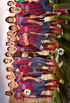 FC Barcelona- Real Madrid is better but. Barcelona Futbol Club, Fc Barcelona Neymar, Barcelona Team, Barcelona Football, Good Soccer Players, Football Players, Lionel Messi, Football Love, Uefa Champions