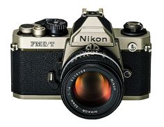My wife's iconic camera that I always steal  Nikon FM2/T