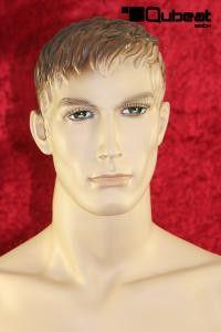 #Schaufensterpuppe #Mannequin #Gesicht  #hautfarben #stehend #männlich #Haare