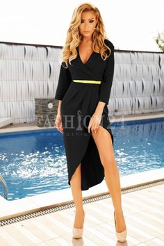 Rochie Cassie neagra Dresses, Fashion, Cots, Vestidos, Moda, Fashion Styles, Dress, Fashion Illustrations, Gown