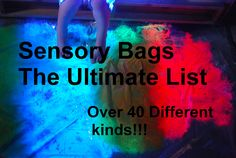 Sensory Bags - from familylicious.com - must try super chilly water bead bag!