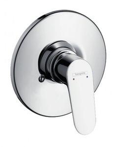 Hansgrohe Decor B Shower mixer including body (classic trading) Bath Shower Mixer, Door Handles, Chrome, Bathroom, Interior, Floor, Design, Classic, Board