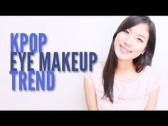 KPOP Eye Makeup Trend by wishtrend.com