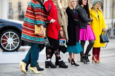 Mercedes-Benz Fashion Week Russia Spring 2015 - Street Style