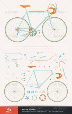 Vintage Road Bike Fu