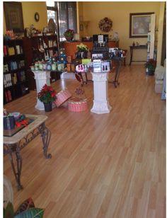 Elite Salon & Day Spa Reception & Retail Area