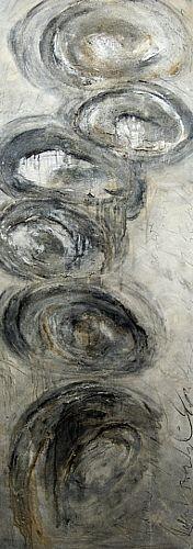 "Nele Kugler  ""dieser weg"" ""this way"" Kunst Abstraktes Diverse Landschaften Gegenwartskunst"