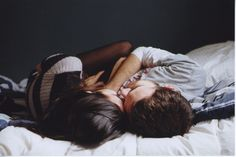 lay down with her, and just laugh, spend time together