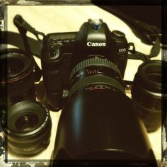 My DSLR set up I use to capture pictures and video for shearer painting