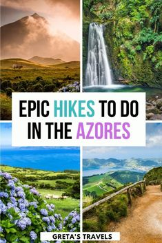 The Azores is the ultimate destination for hiking and outdoors lovers. With over 86 hiking trails in the Azores, how do you prepare and decide what hikes to do? This Azores hiking guide covers everyth Travel Tips For Europe, Hiking Europe, Travel List, Travel Guide, Azores, Hiking Guide, Hiking Trails, Algarve, West Coast Trail