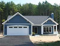 This porch! Plan Narrow Lot, Cottage, Photo Gallery, Craftsman, Sloping Lot House Plans & Home Designs Cottage Floor Plans, Ranch House Plans, Small House Plans, House Floor Plans, Red Cottage, Cottage Homes, Lake Cottage, Cottage Ideas, House Colors