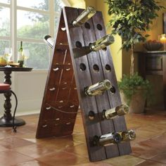 Wine Rack, Remuage Wood from Through the Country Door®