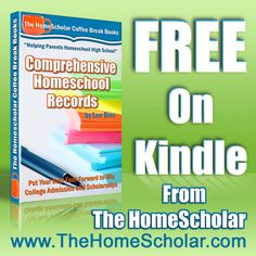 FREE #HomeScholar coffee break book to help you unlock the door to college admission and scholarship with comprehensive #homeschool records! (free 3/13-15 only) click here: http://budurl.com/KindleRecords