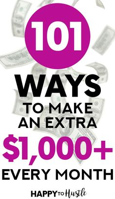 Want to make money on the side to fill your savings account or pay off debt? Click through for creative side hustle ideas to make extra money while working a full time job! Our list includes ideas on working from home, making money online, part-time j Make Money Today, Make Money Fast, Money Tips, Money Saving Tips, Money Hacks, Making Extra Cash, Debt Payoff, Earn Money Online, Online Jobs